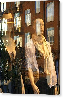 Canvas Print featuring the photograph Window Shopping by Michael Canning