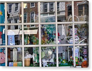 Window Shopping Canvas Print by Todd Hostetter