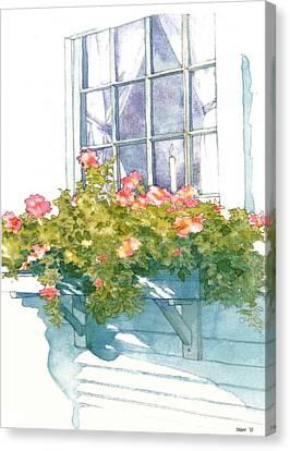 Window Sill Canvas Print by Sloane FinneganAllen