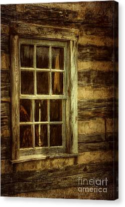 Window To The Past Canvas Print by Lois Bryan