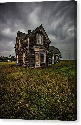 Abandoned House Canvas Print - Window To The Soul  by Aaron J Groen