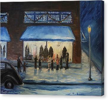 Window Wishes Canvas Print by Daniel W Green