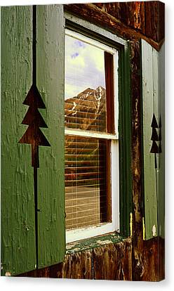 Window With A View  Canvas Print by The Forests Edge Photography - Diane Sandoval