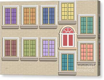 Windows 11 Canvas Print
