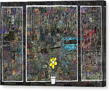 Windows 8  Canvas Print by Andy  Mercer