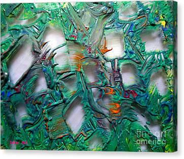 Windows By Taikan Canvas Print by Taikan Nishimoto
