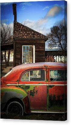 Canvas Print featuring the photograph Windows by Cat Connor