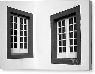Windows Canvas Print by Gaspar Avila