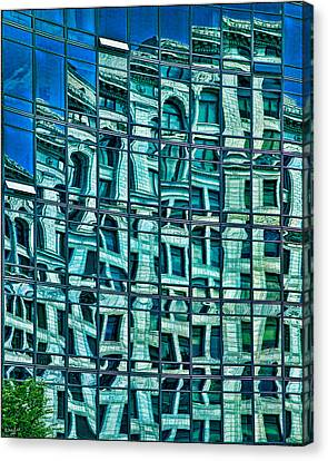 Windows In Windows Canvas Print