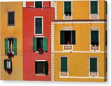 Windows Canvas Print by Marji Lang