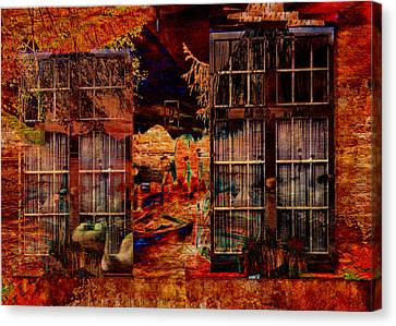 Windows To The Soul Canvas Print by Sarah Vernon
