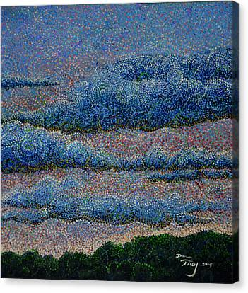 Windscape1 Canvas Print by Dan Terry