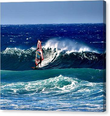 Windsurfer Canvas Print