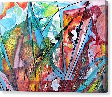 Windswept Canvas Print by David Raderstorf