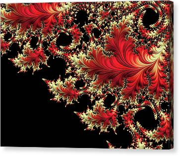 Canvas Print featuring the digital art Windswept by Susan Maxwell Schmidt