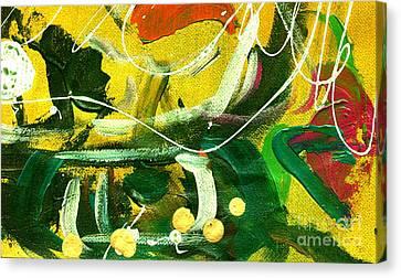 Windswept V Canvas Print by Angela L Walker
