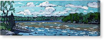 Windy Day Canvas Print by Phil Chadwick