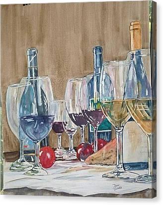 Wine 2 Canvas Print