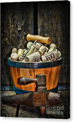 Wine A Different Type Of Fruit Canvas Print by Paul Ward