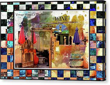 Wine Bar Southwest Style Canvas Print