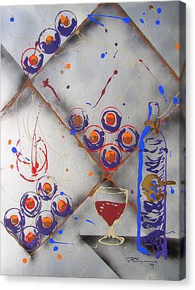 Wine Connoisseur Canvas Print