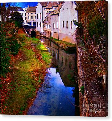 Pinot Noir Canvas Print - Wine Country, Beaune, France by Al Bourassa