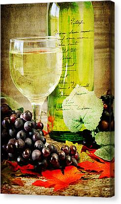 Wine Canvas Print by Darren Fisher