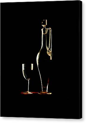 Wine Canvas Print by Jon Daly