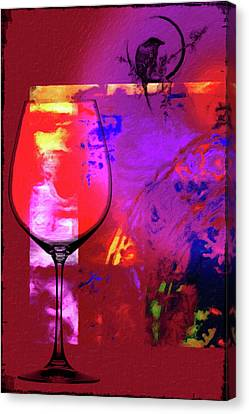 Wine Pairings 1 Canvas Print by Priscilla Huber