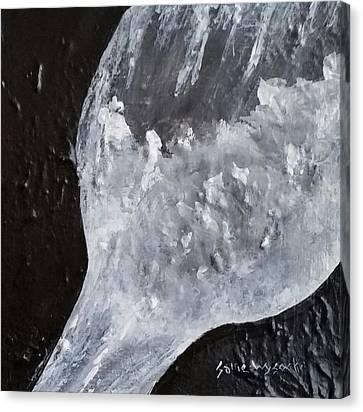 Wine Slushy Canvas Print by Sallie Wysocki