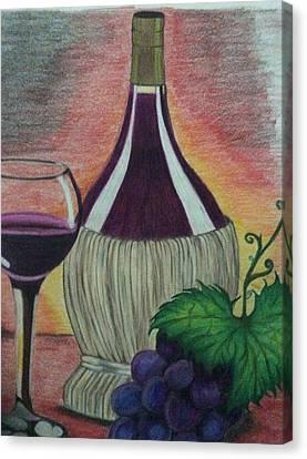 Wine So Fine Canvas Print