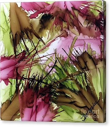 Wine Time Canvas Print by Jo Ann Bossems