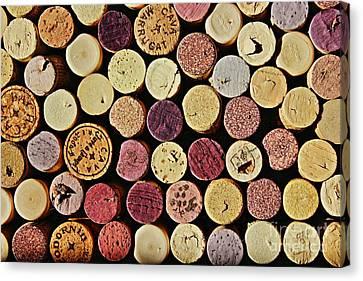 Wine Tops Canvas Print