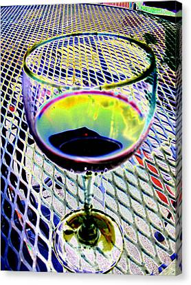 Wine Vertical Canvas Print by Peter  McIntosh