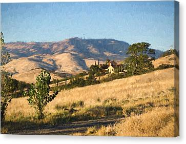 Winery At Ashland Oregon Canvas Print by Kenneth Roberts