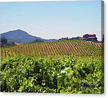 Production Canvas Print - Winery by Jerry L Barrett