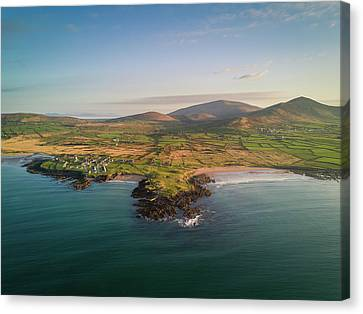 Winestrand Canvas Print by Florian Walsh