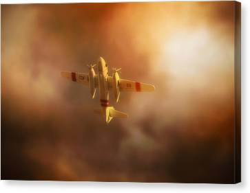 Wing And Prayer Canvas Print by John Hamlon