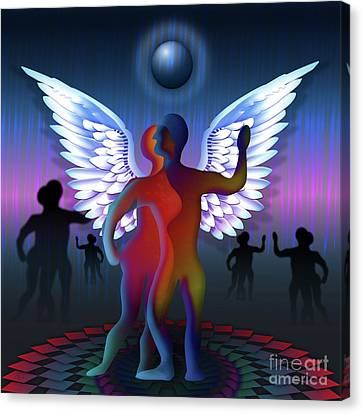 Winged Life Canvas Print