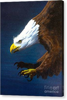 Winged Majesty Canvas Print by Kevin Ballew