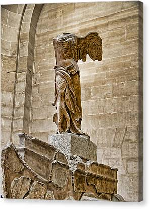 Winged Victory Canvas Print by Jon Berghoff