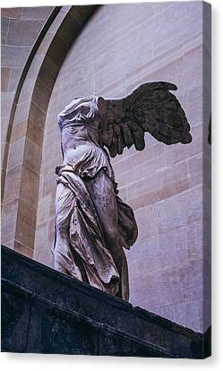 Winged Victory Of Samothrace Canvas Print