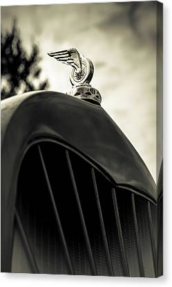 Winged Wheel Canvas Print