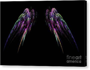 Wings Canvas Print by Geraldine DeBoer