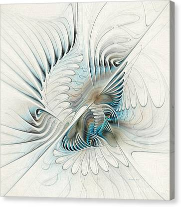 Wings Of An Angel Canvas Print