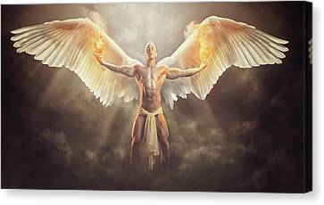 Canvas Print - Wings Of Freedom by Marcin and Dawid Witukiewicz