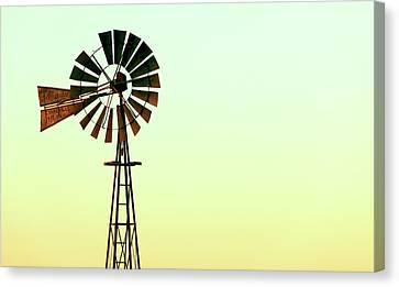 Evansville Canvas Print - Winmill Tint by Todd Klassy