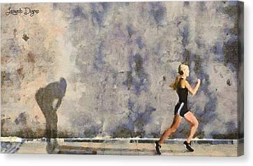Winner Canvas Print by Leonardo Digenio