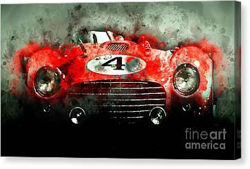 Winning Le Mans  Canvas Print