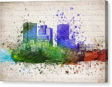 Winnipeg In Color Canvas Print by Aged Pixel